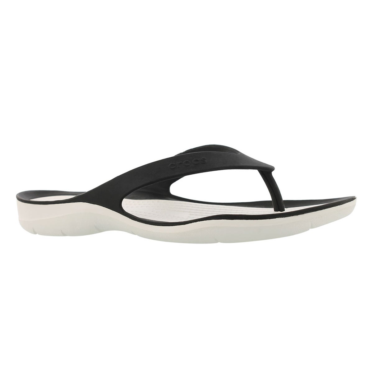 Lds Swiftwater Flip blk/wht thong sndl