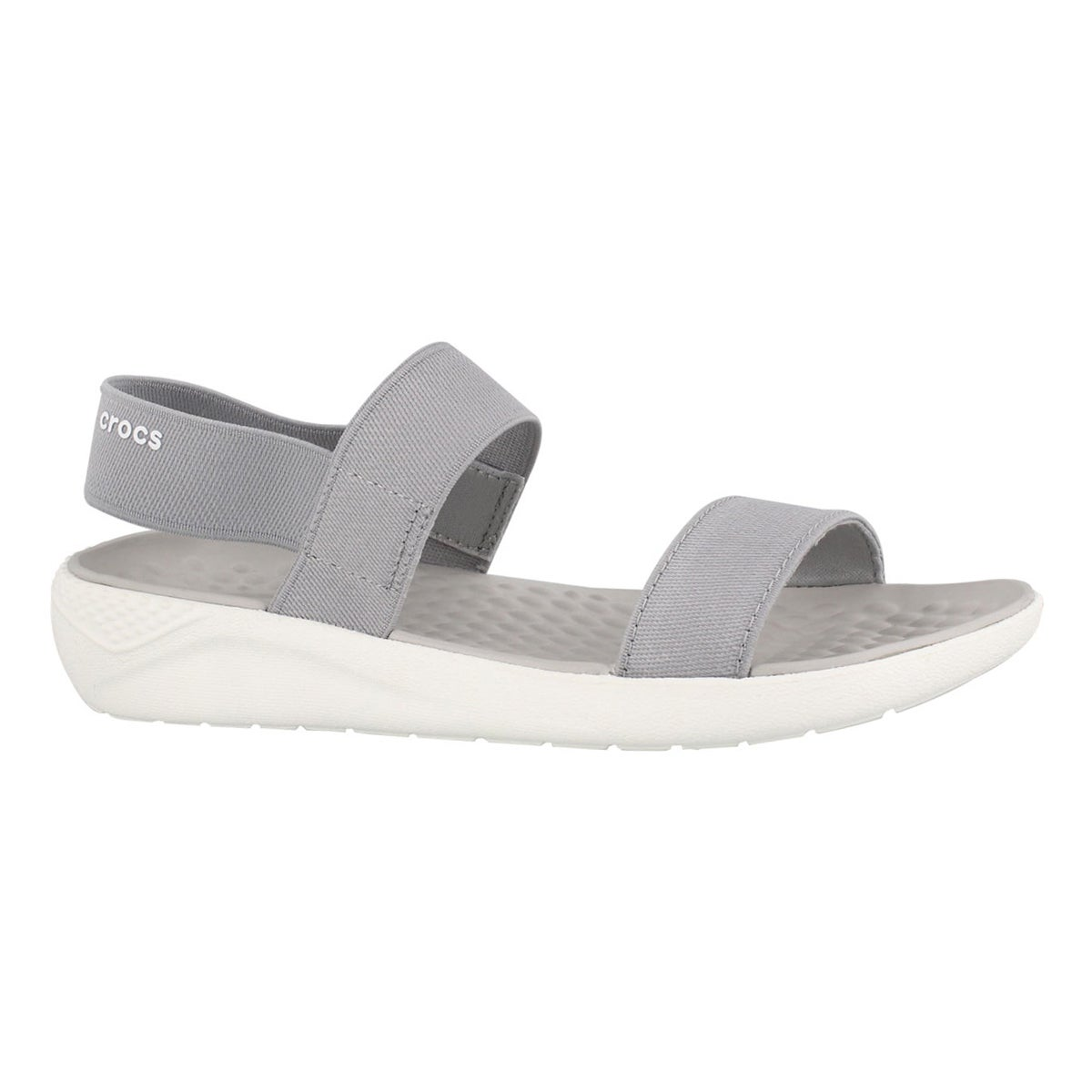 Lds LiteRide gry/wht casual sandal