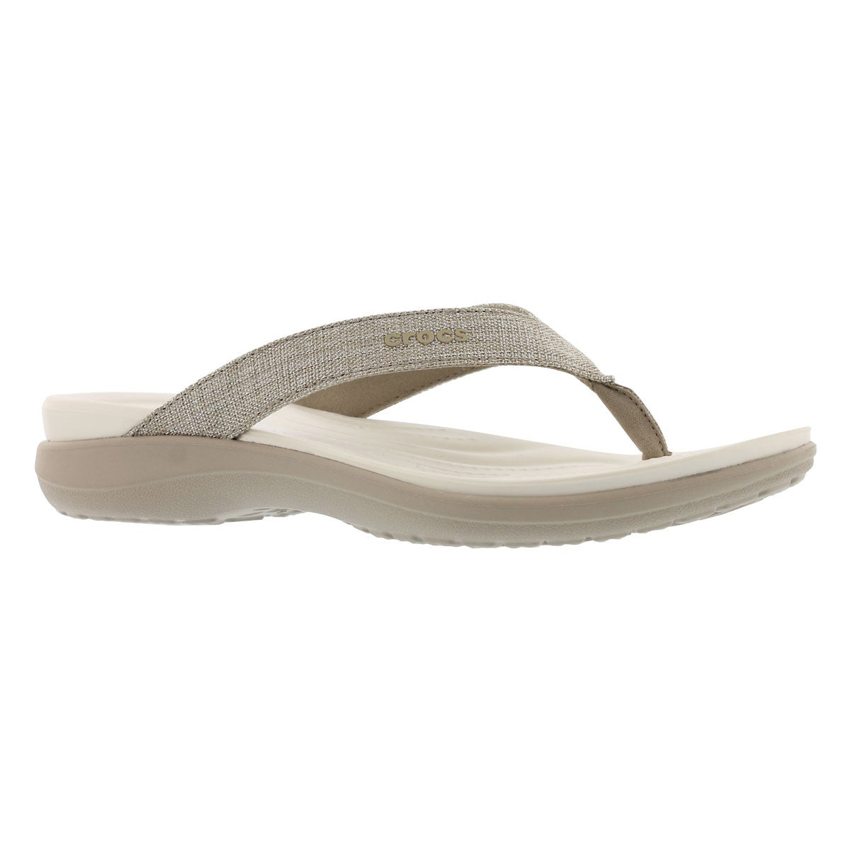 Women's CAPRI V SHIMMER cobblestone sandals