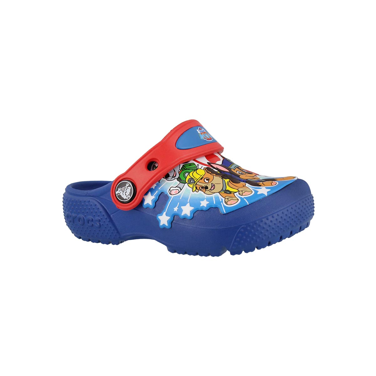 Kids' FUNLAB PAW PATROL blue jean clogs