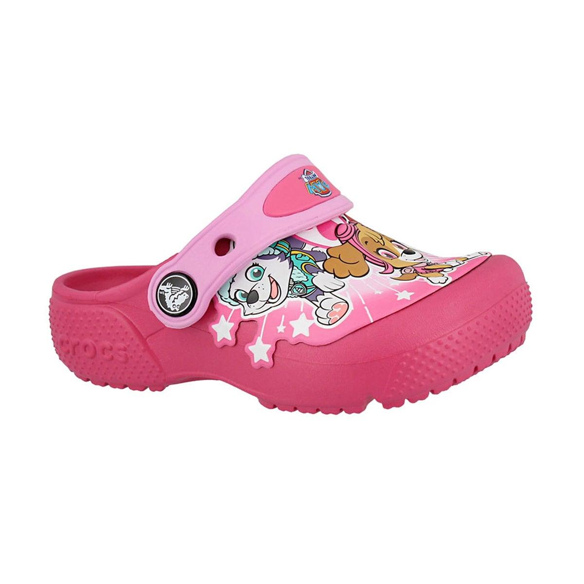 Girls' FUNLAB PAW PATROL vibrant pink clogs