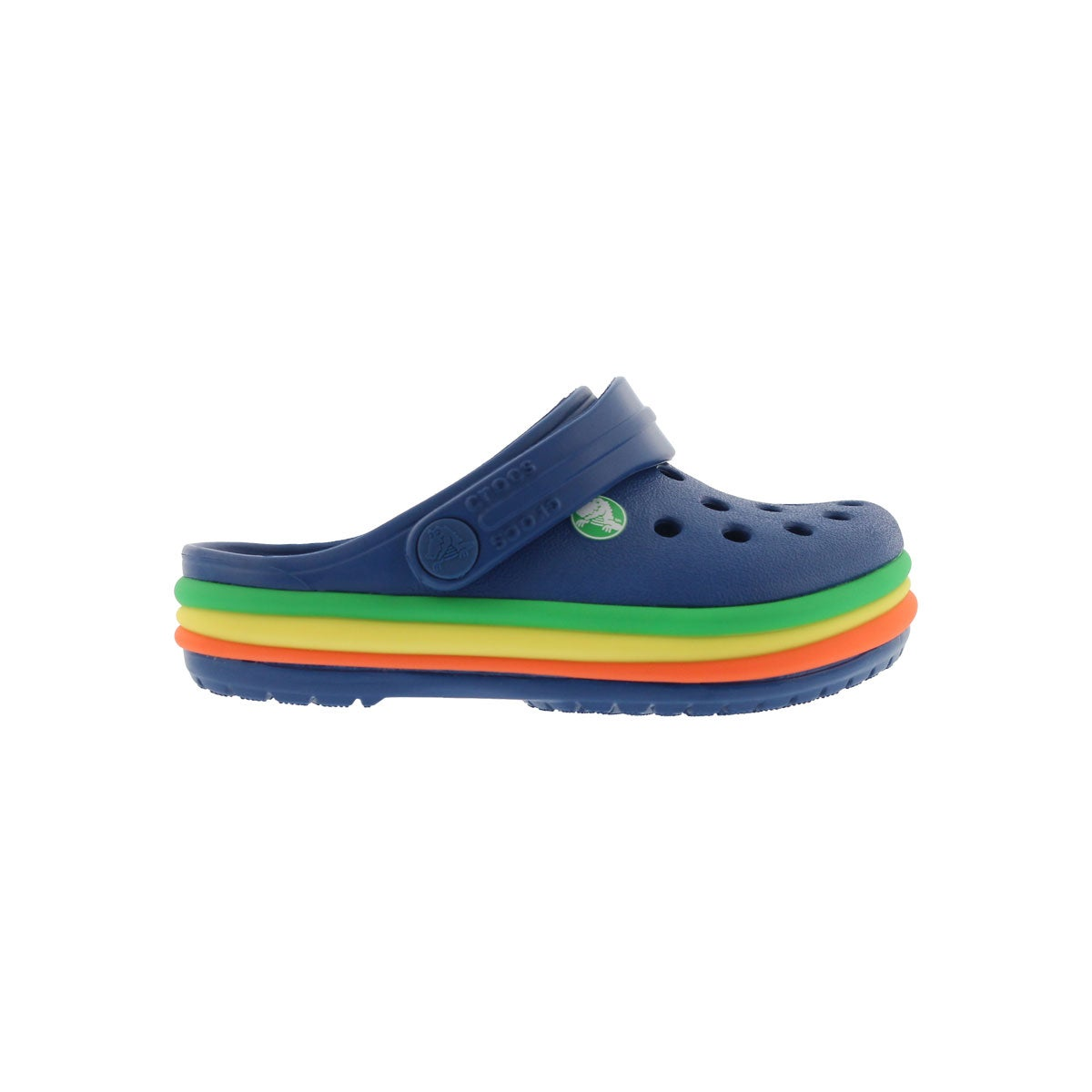 Infs CB Rainbow Band blue jean EVA clog
