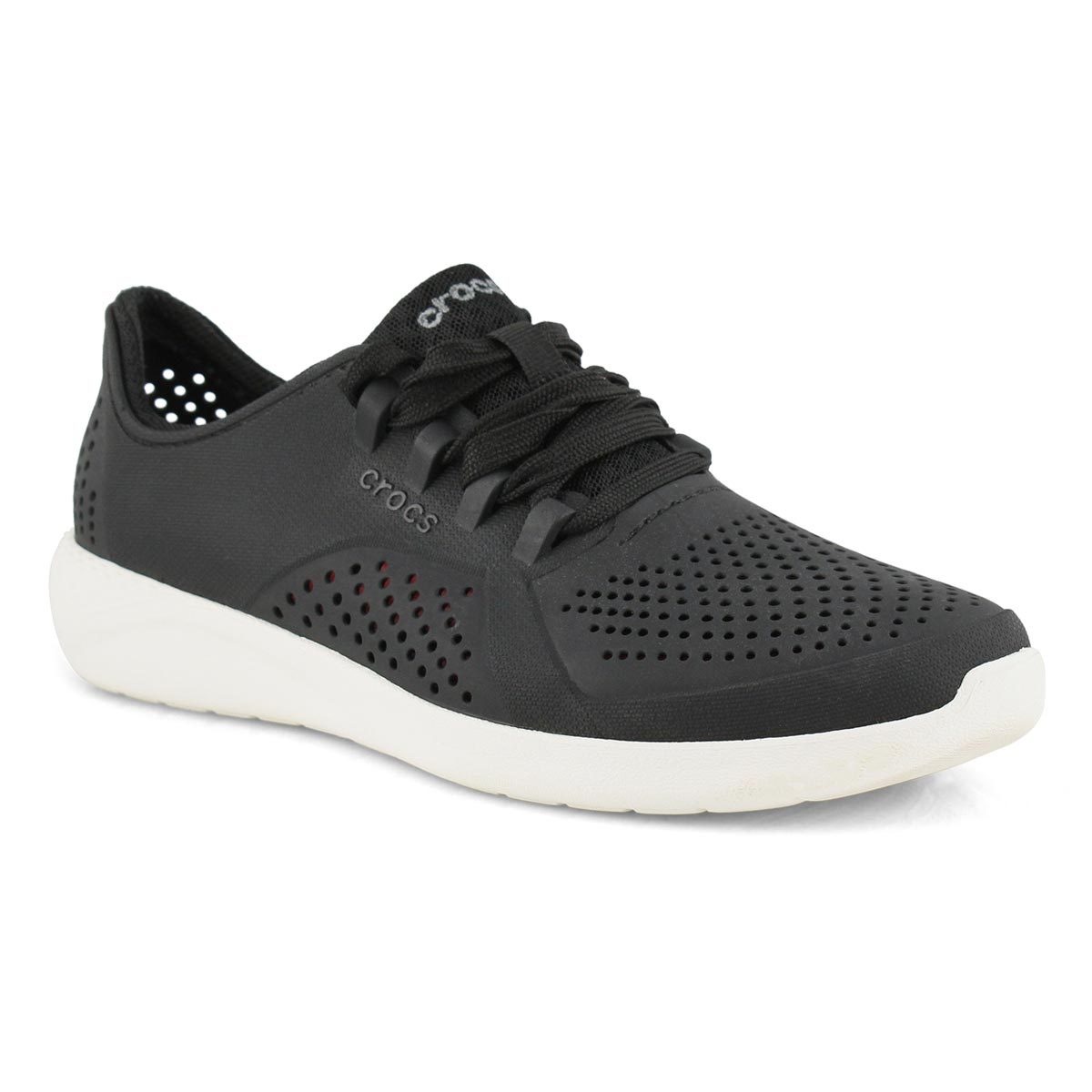 Lds LiteRide Pacer black lace up sneaker