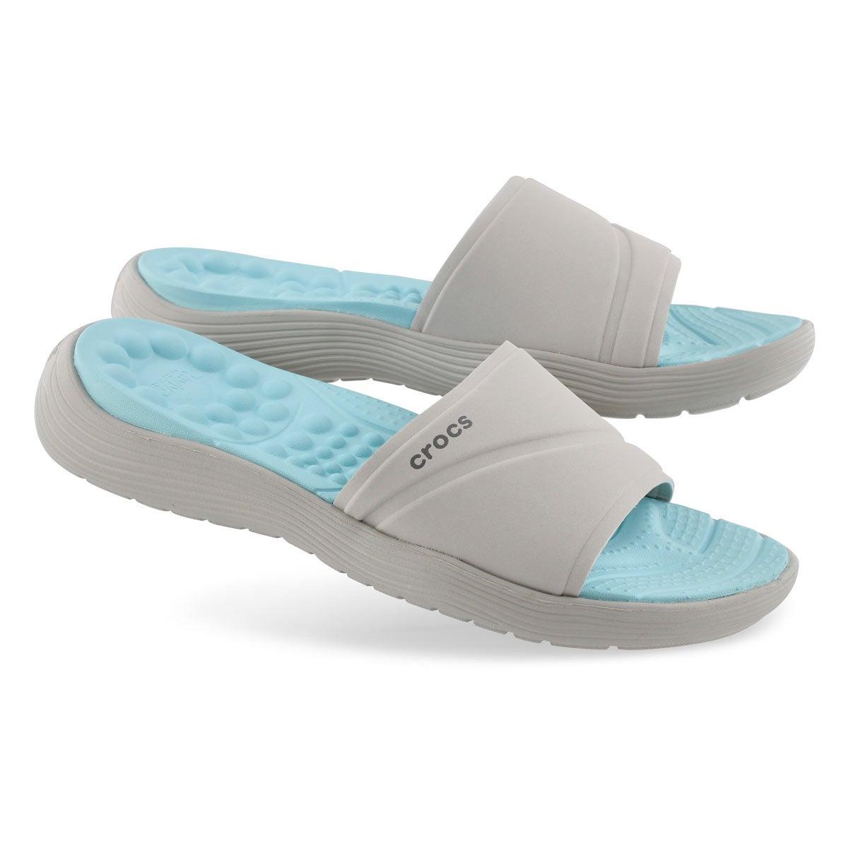 Sandale enfil.Reviva Slide,blc perle,fem
