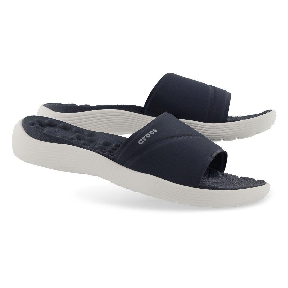 Sandale enfil. Reviva Slide,mrn/blc ,fem