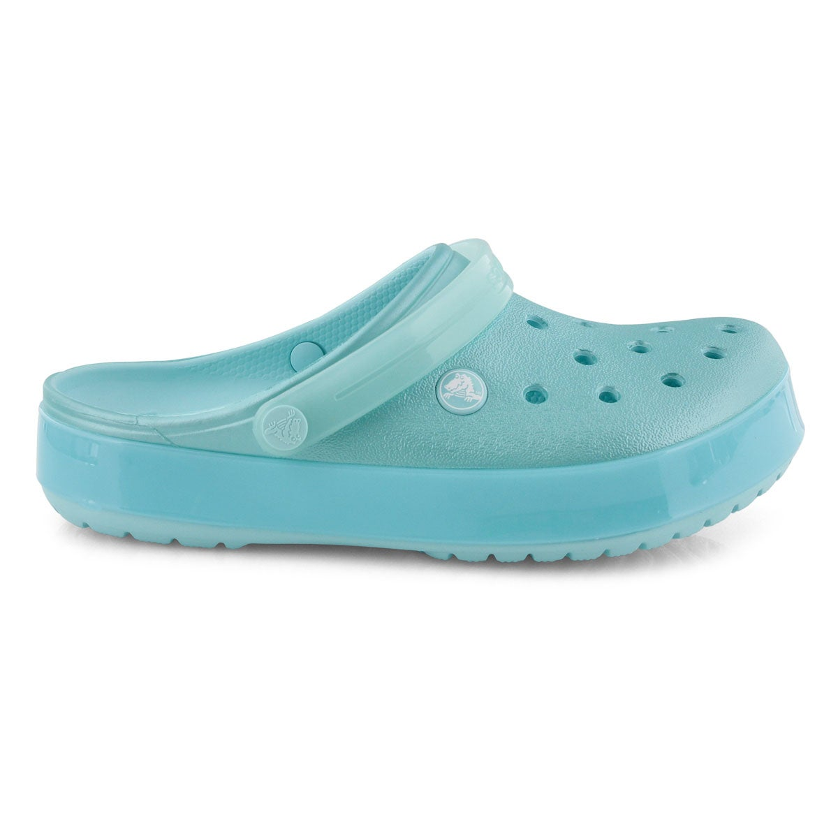 Lds Crocband Ice Pop ice blu EVA clog