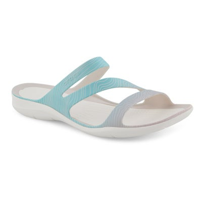 Lds Swiftwater Print pool slide sandal