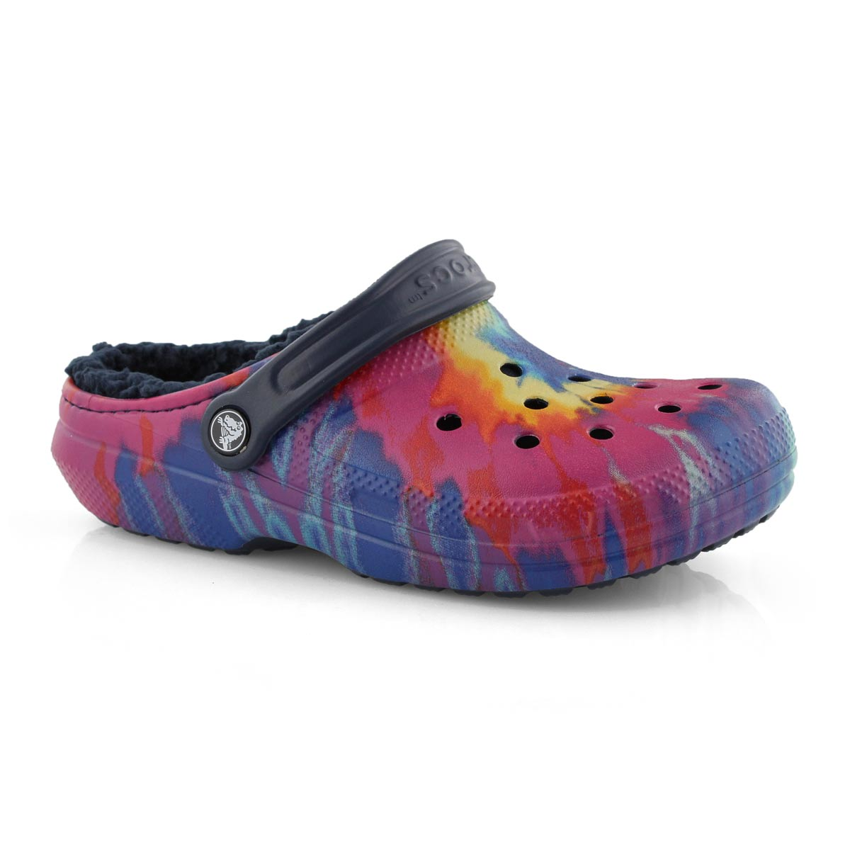 Lds Classic Lined Tie Dye multi clog