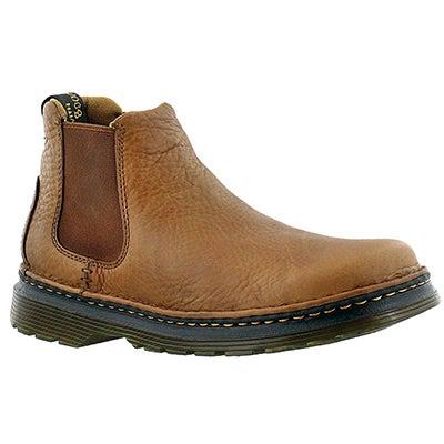Mns Oakford tan chelsea boot