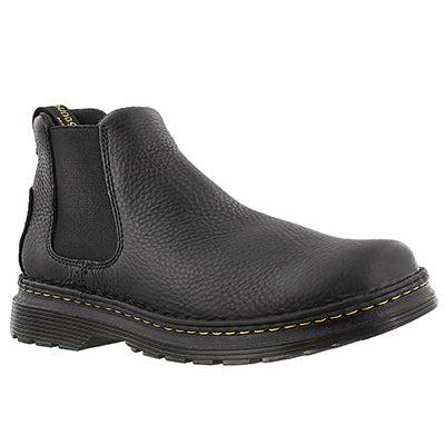 Dr Martens Men's OAKFORD black chelsea boots