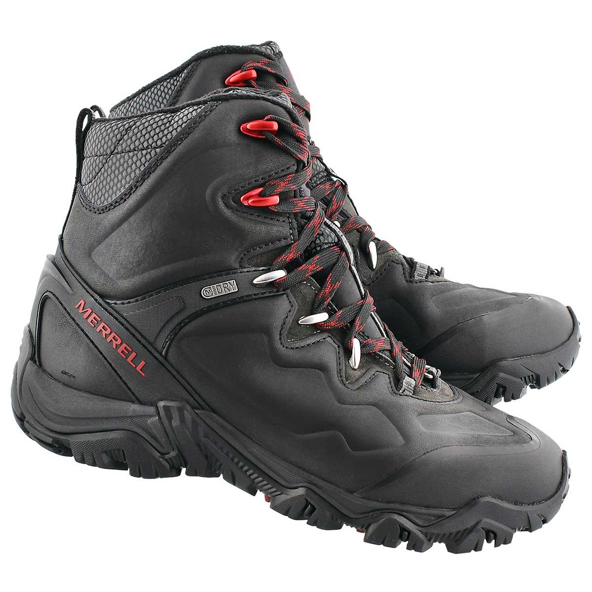 Mns Polarand 8 black wtrpf winter boot
