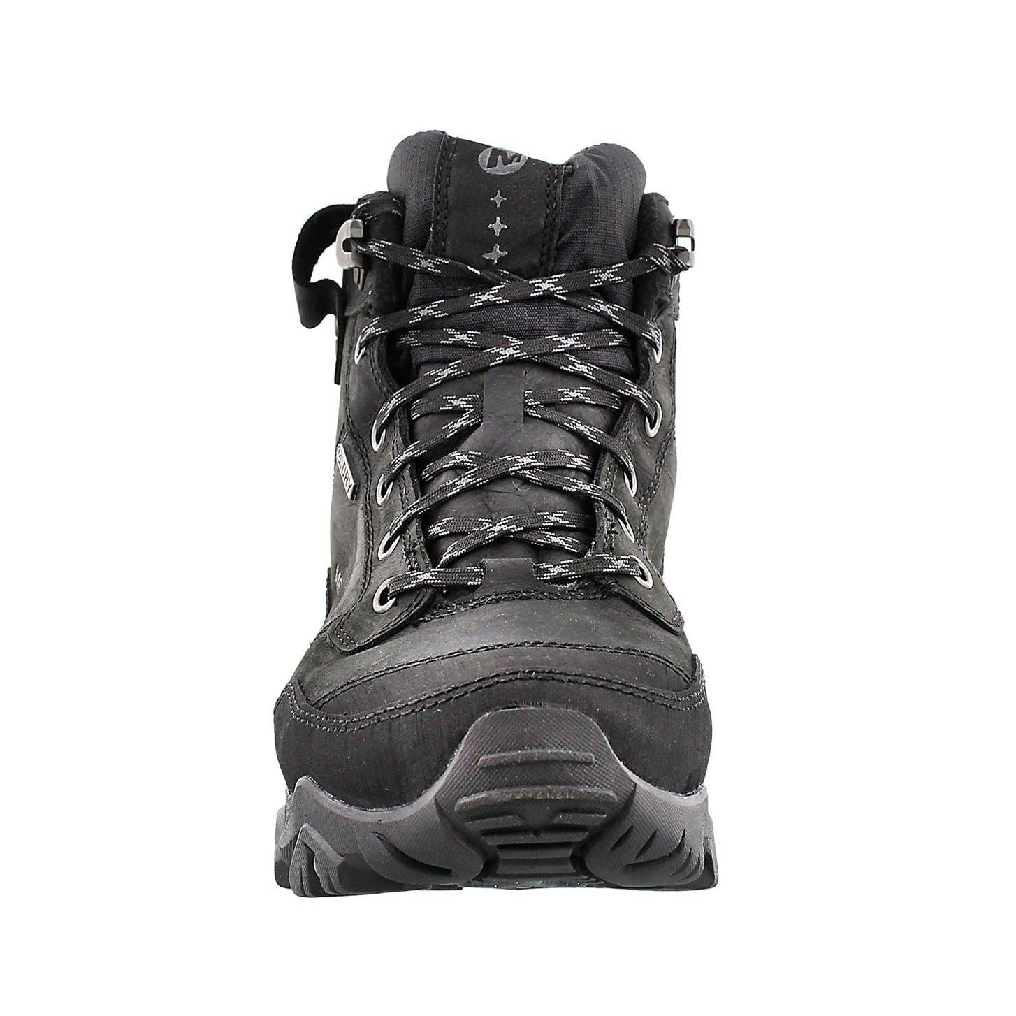 Mns Polarand Rove blk wtrpf lace up boot