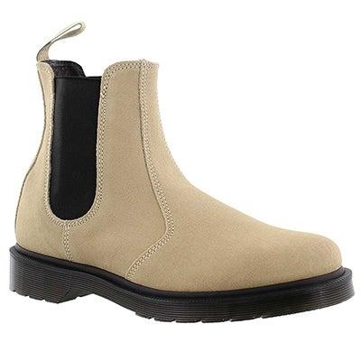Dr Martens Women's 2976 milkshake pull on chelsea boots