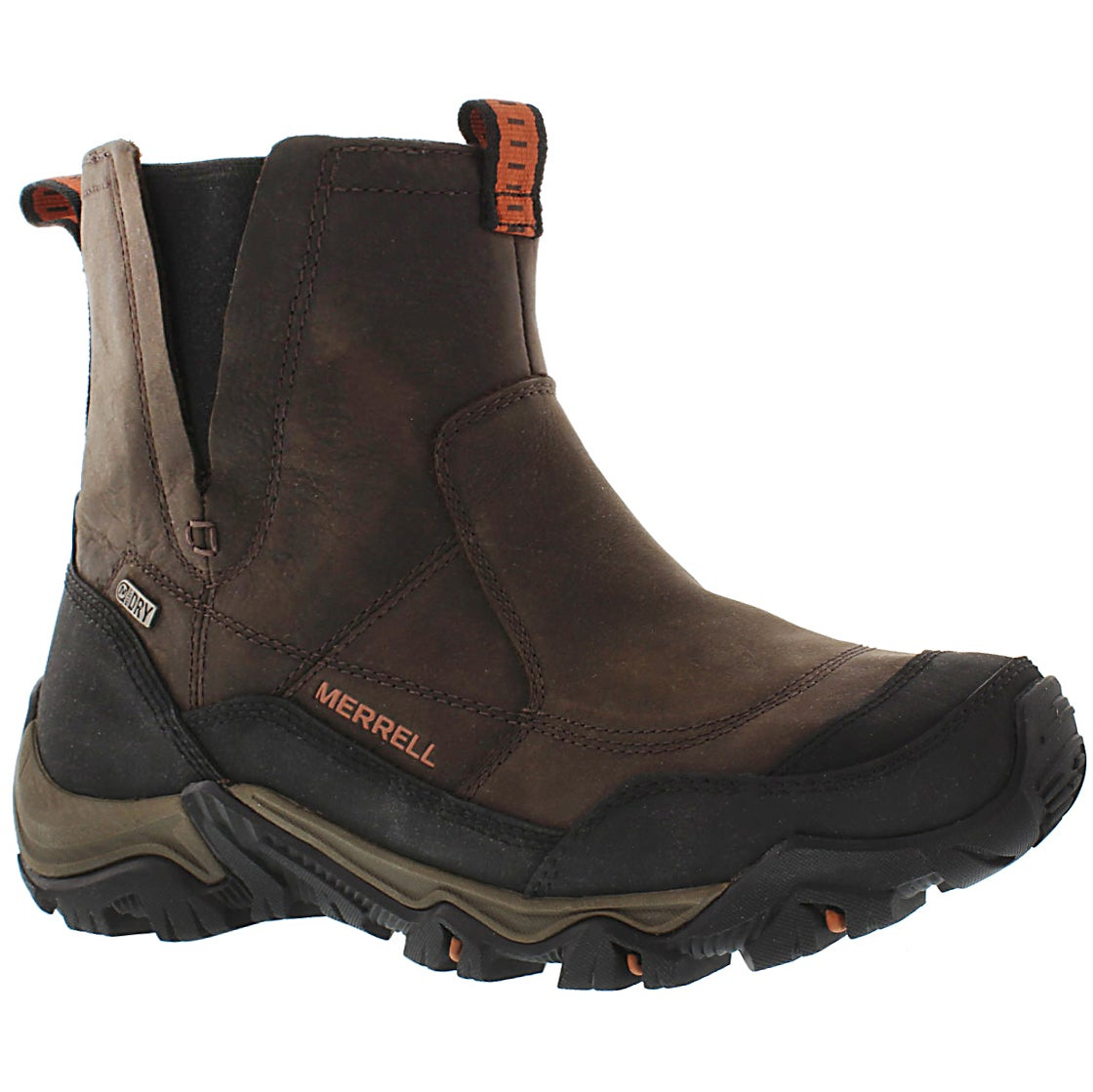 Men's POLARAND ROVE PULL brown waterproof boots