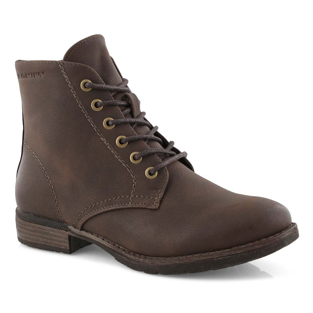 Botte militaire Wendy 05, moro, fem.