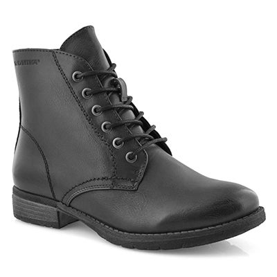 Lds Wendy 05 anthracite combat boot