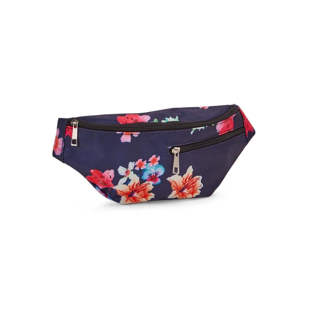 Lds navy/multi fanny pack