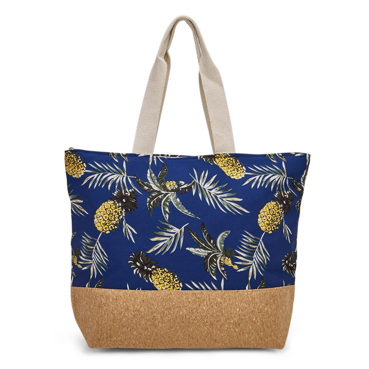 Lds pineapple large tote hand bag