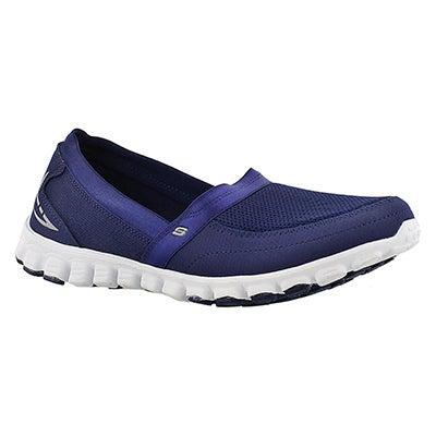 Skechers Women's TAKE IT EASY navy slip on walking shoes