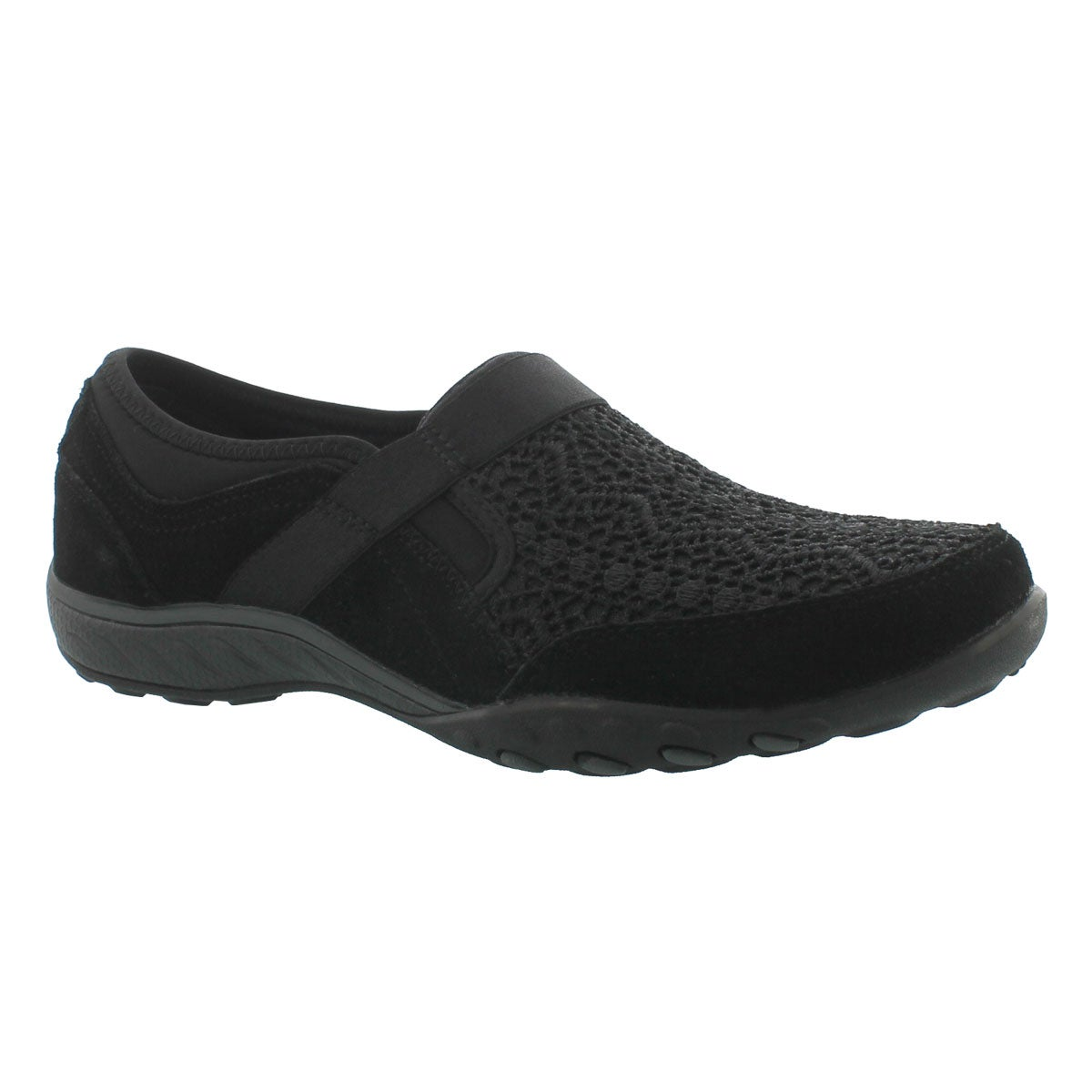Lds Breathe-Easy Our Song blk slip on