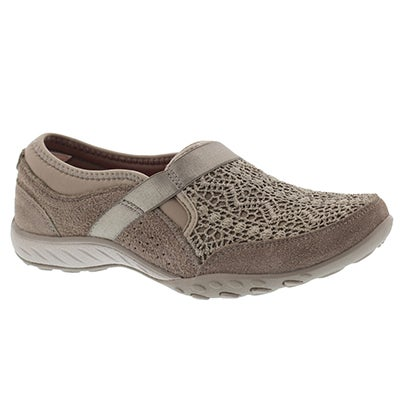 Lds Breathe-Easy Our Song taupe slip on