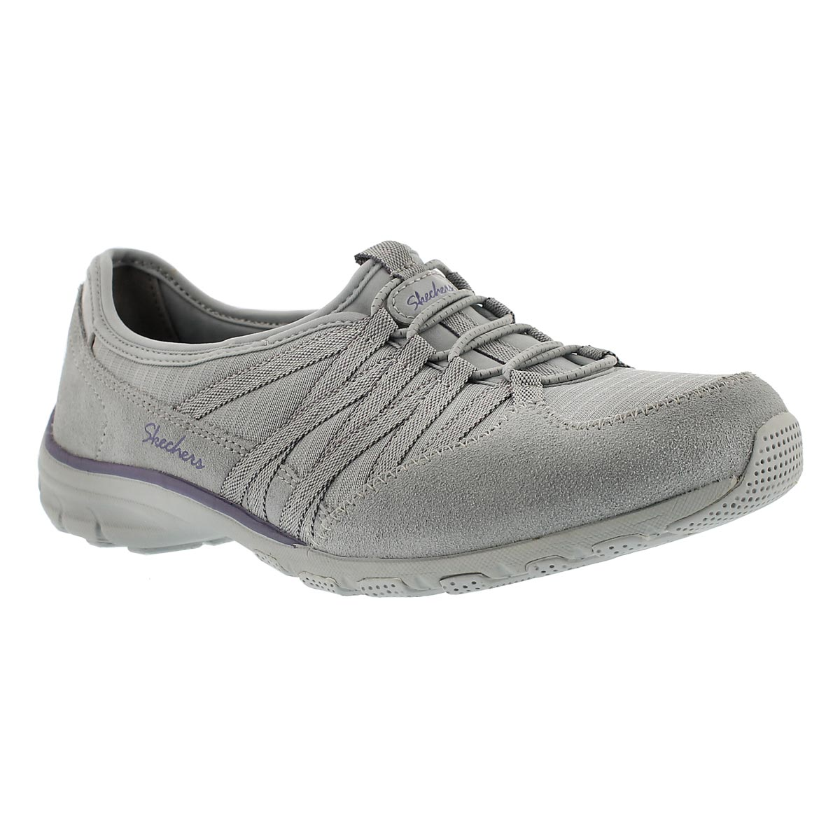 Lds Holding Aces gry/ppl slipon sneaker