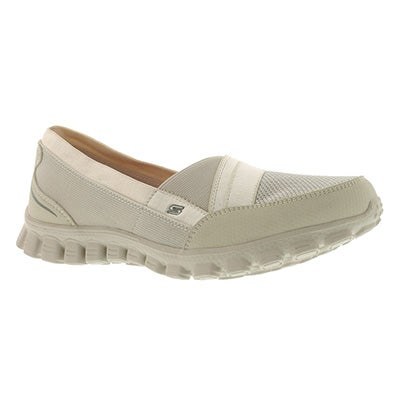 Skechers Women's QUIPSTER natural slip on walking shoes