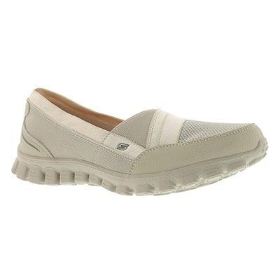 Lds Quipster natural slipon walking shoe