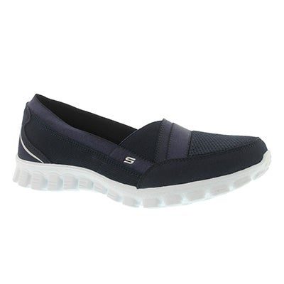 Skechers Women's QUIPSTER navy slip on walking shoes