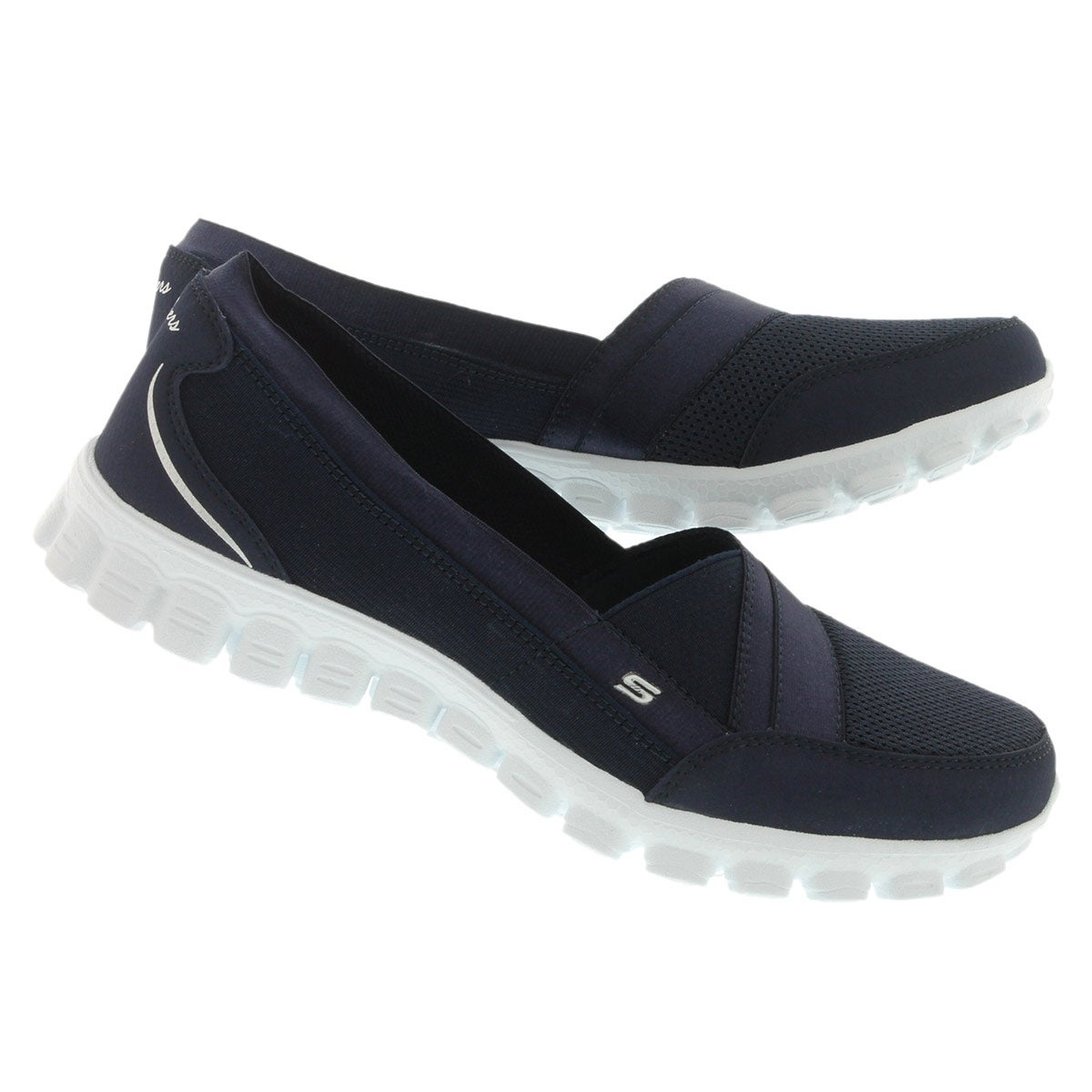 Lds Quipster navy slipon walking shoe