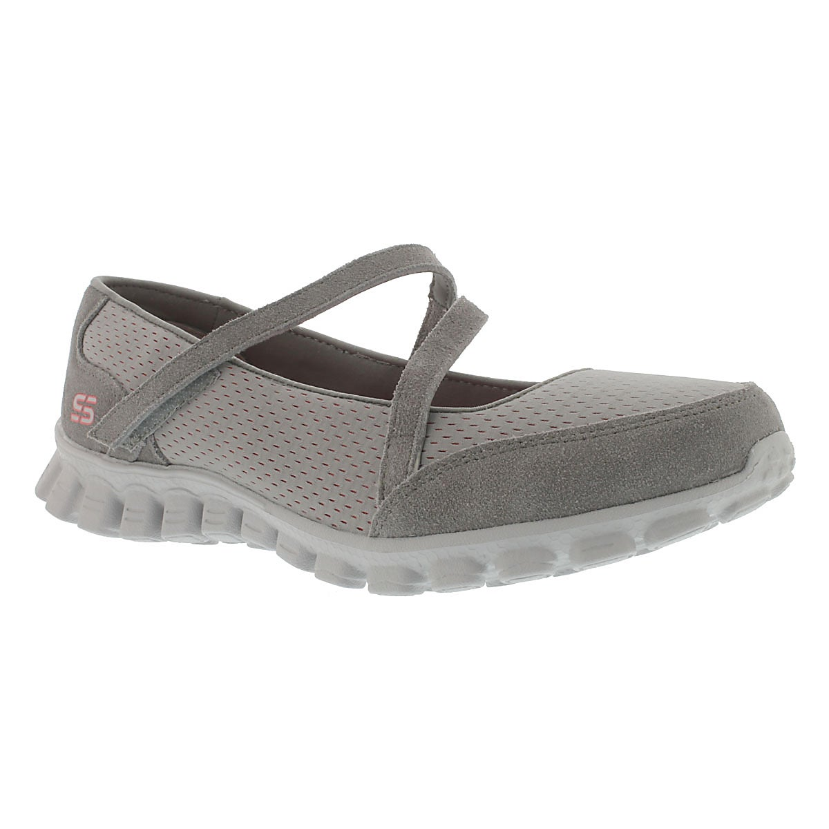Lds A-Game grey mary jane sneaker
