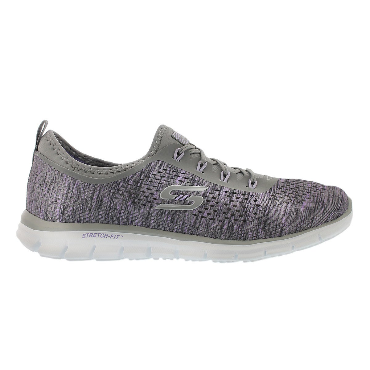 Lds Deep Space gry/lvndr slip on runner