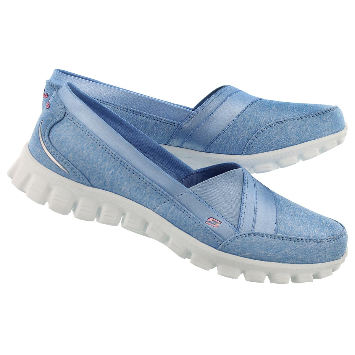 Lds Fascination lt blue slipon walking