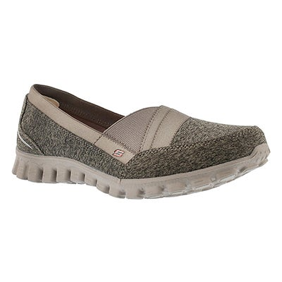 Skechers Women's FASCINATION taupe slipon walking shoes