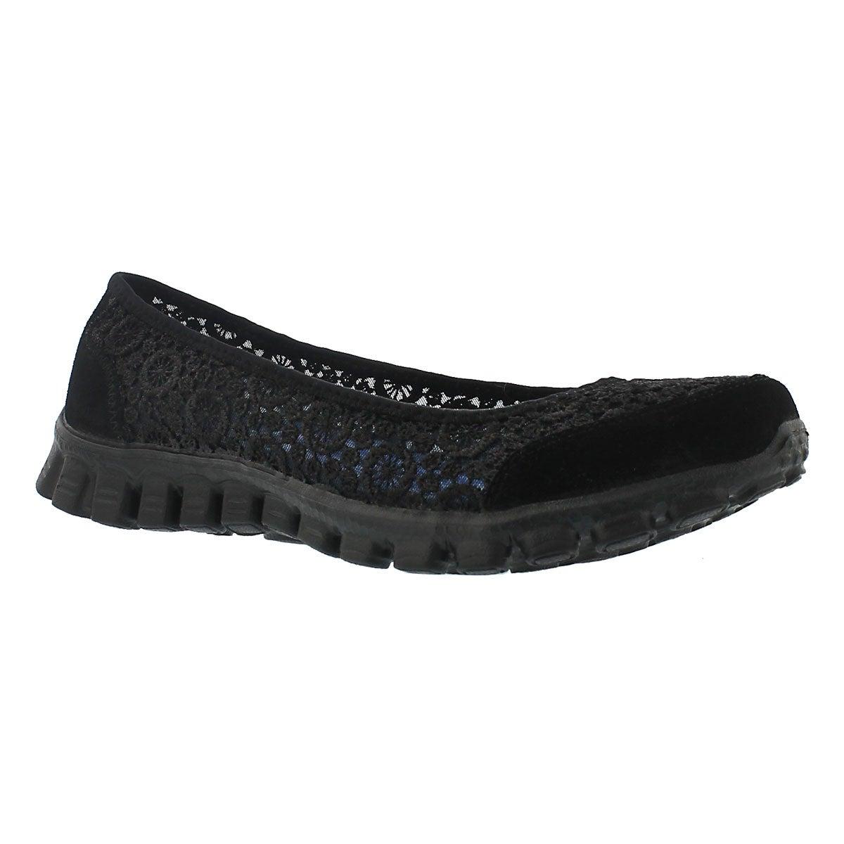 Lds Flighty black crochet skimmer