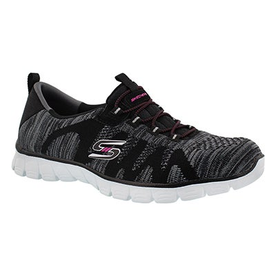 Skechers Women's TAKE-THE-LEAD black sneakers