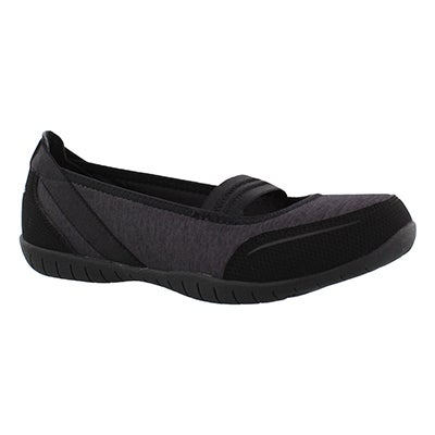 Skechers Women's Atomic MAGNETIZE black slip ons