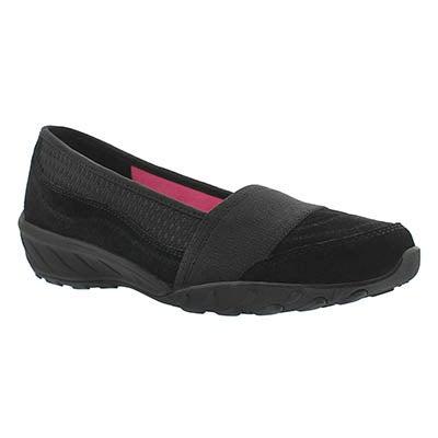 Skechers Women's SAVVY black slip on casual shoes