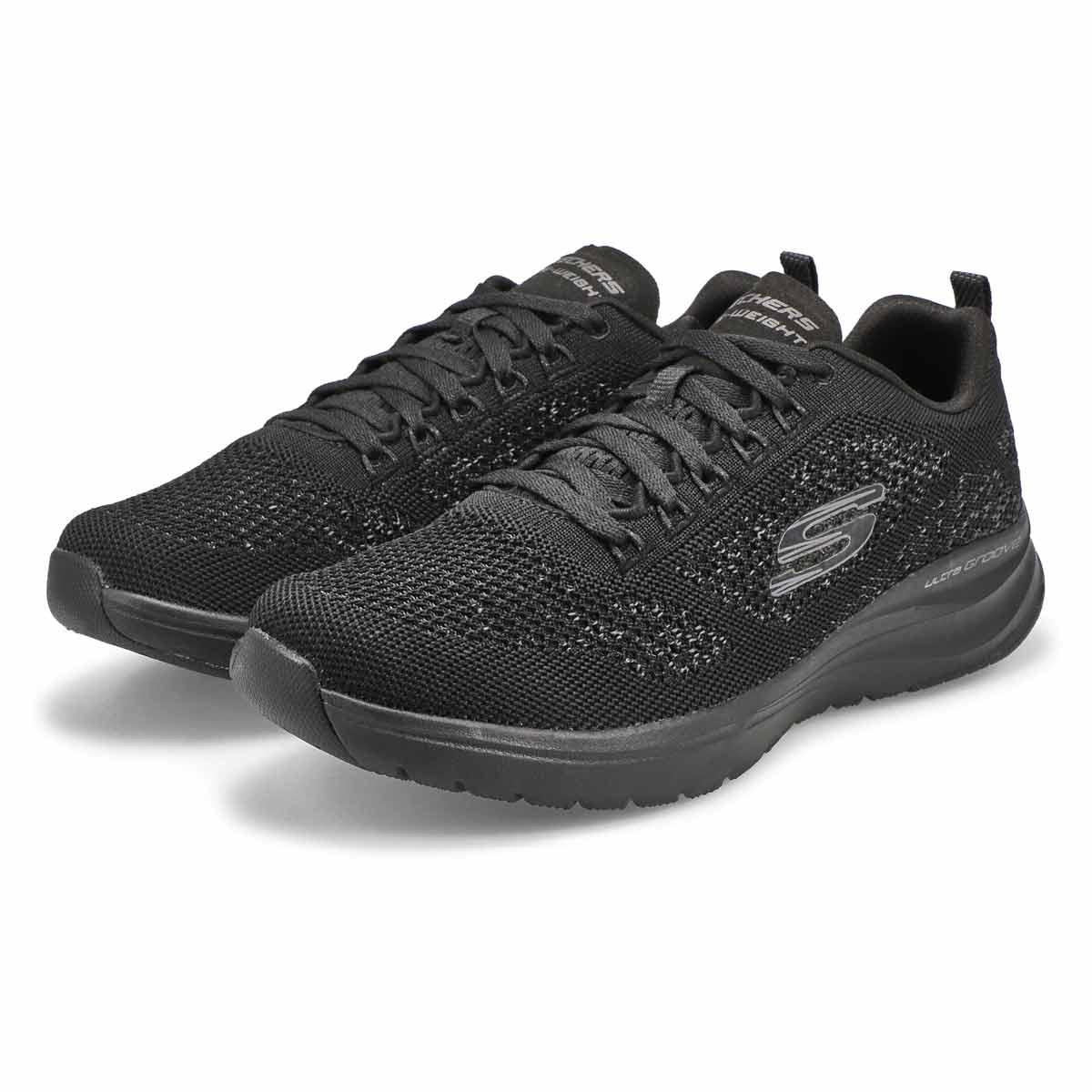 Mns Ultra Groove black running shoe