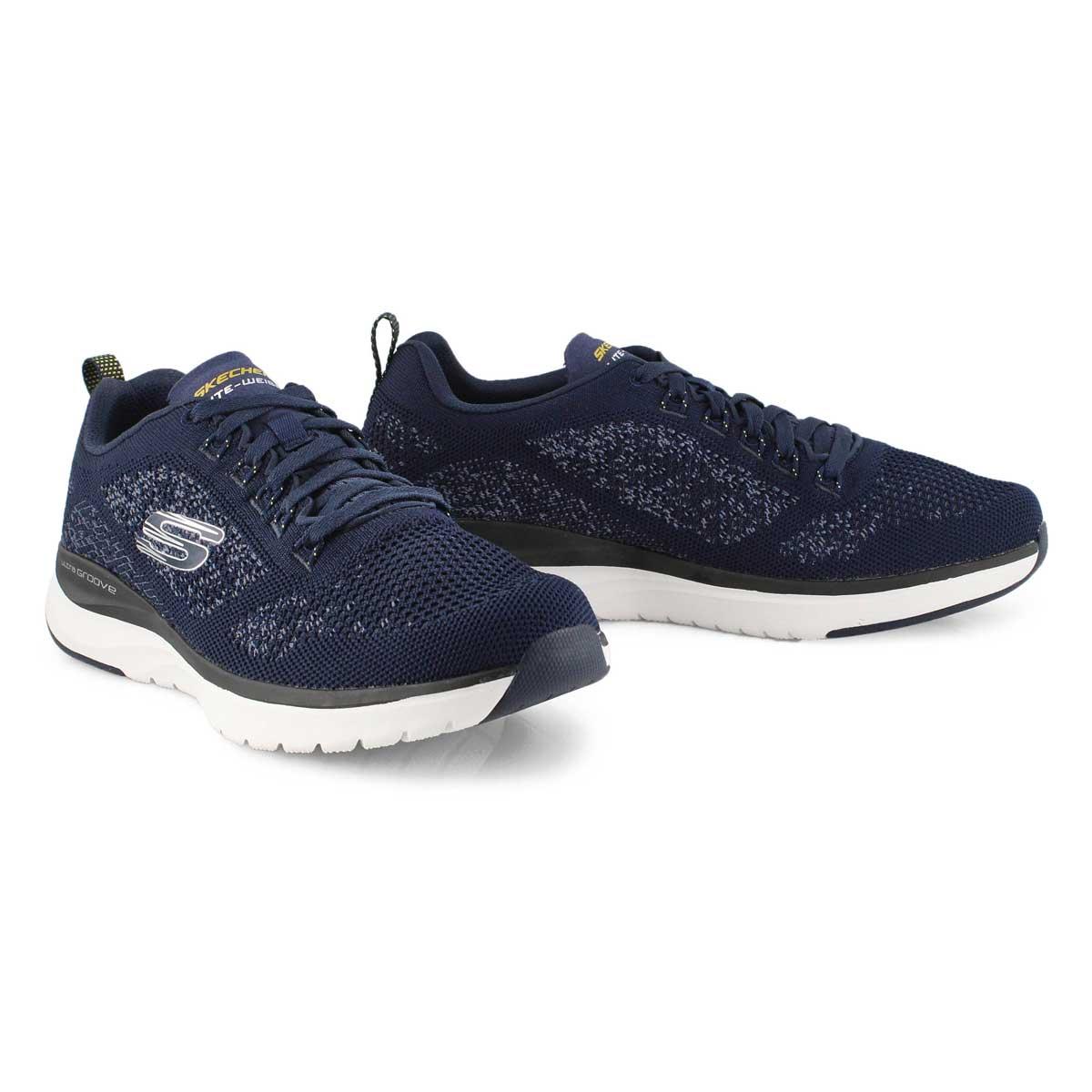 Mns Ultra Groove navy running shoe