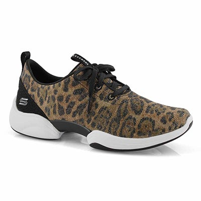 Lds Skech-Lab leopard slip on sneaker