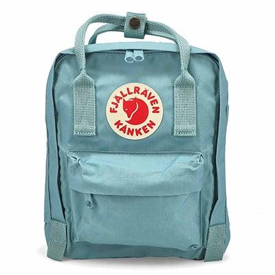 Fjallraven Kanken Mini sky blue backpack