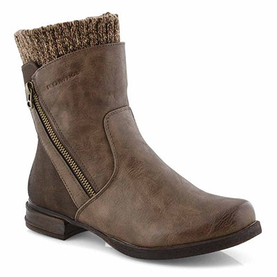 Lds Venus 04 brown ankle boot