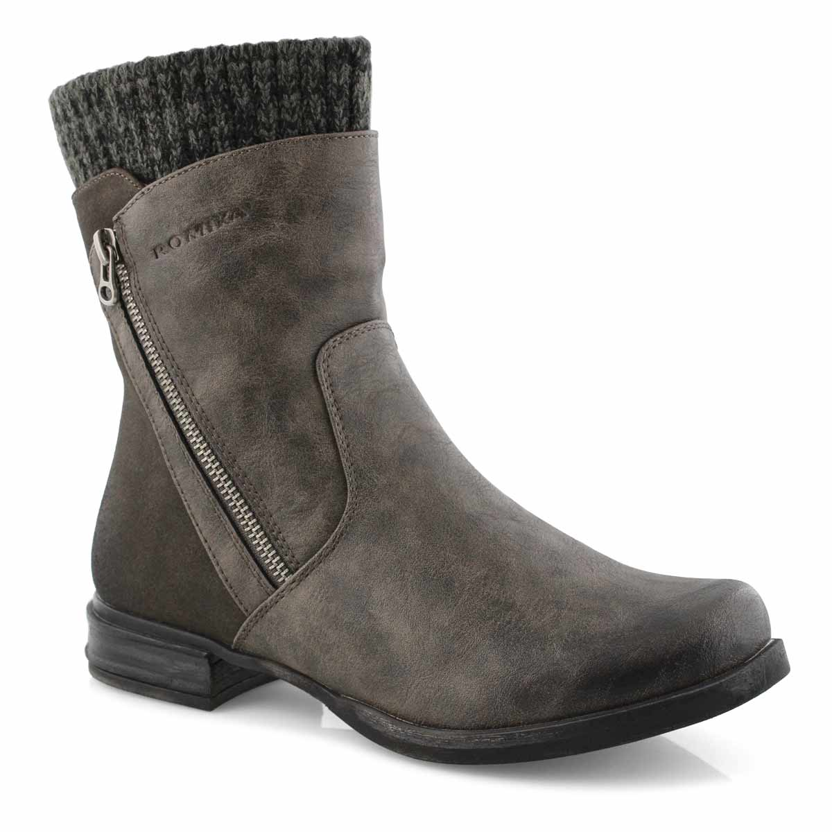 Lds Venus 04 anthracite ankle boot