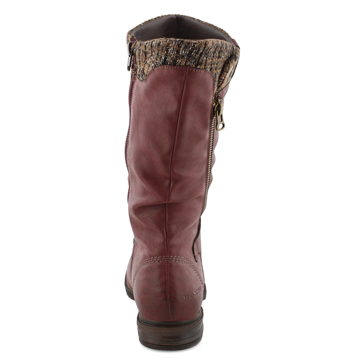 Lds Venus 05 bordo mid calf boot