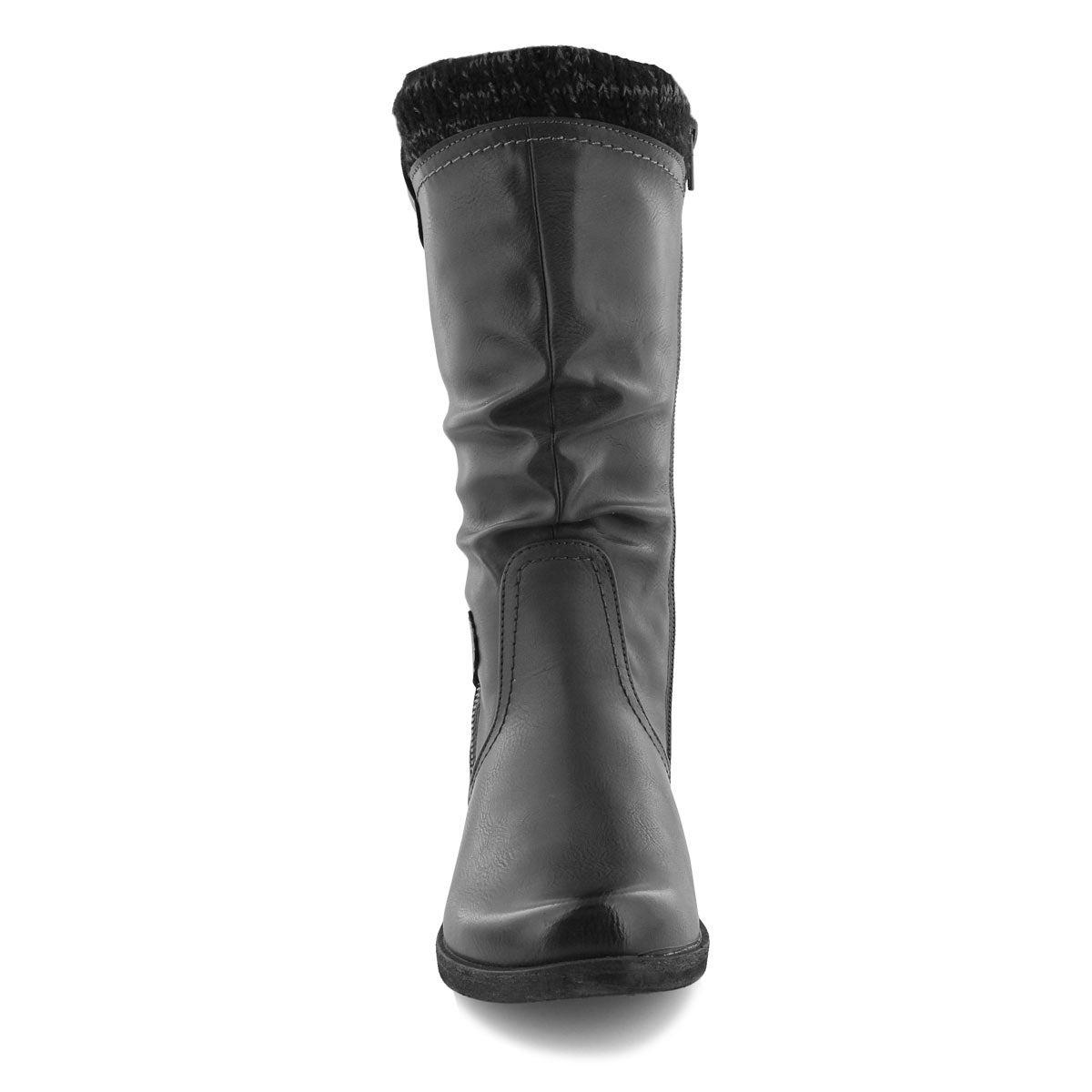 Lds Venus 05 anthracite mid calf boot