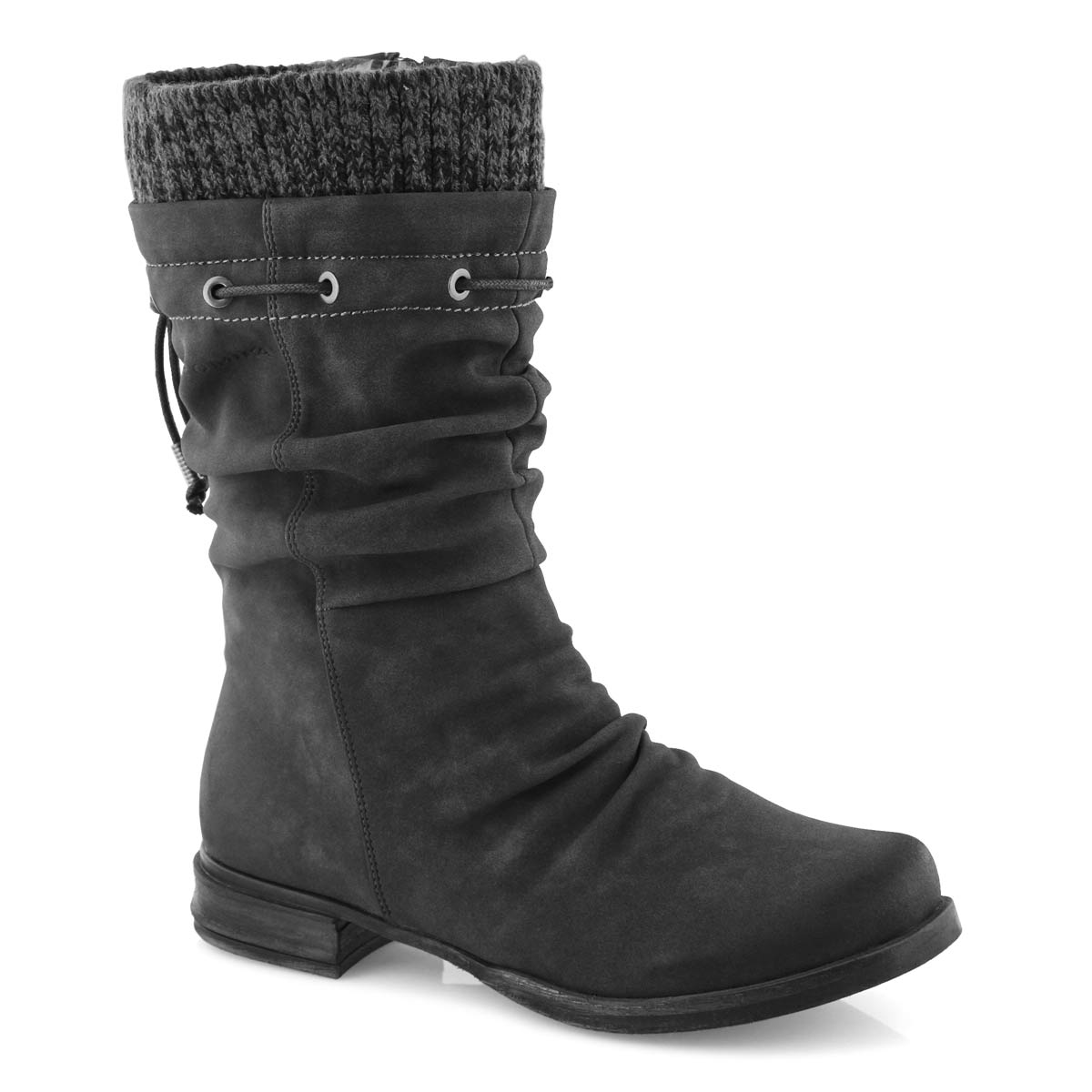 Lds Venus 06 anthracite mid calf boot