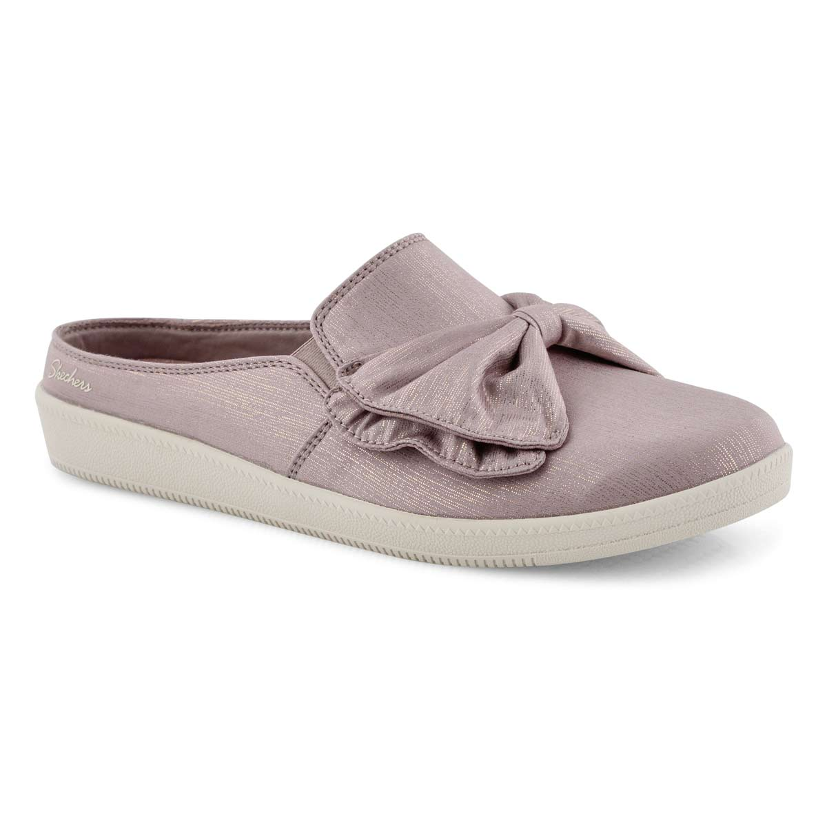 Lds Madison Ave lilac open back shoe