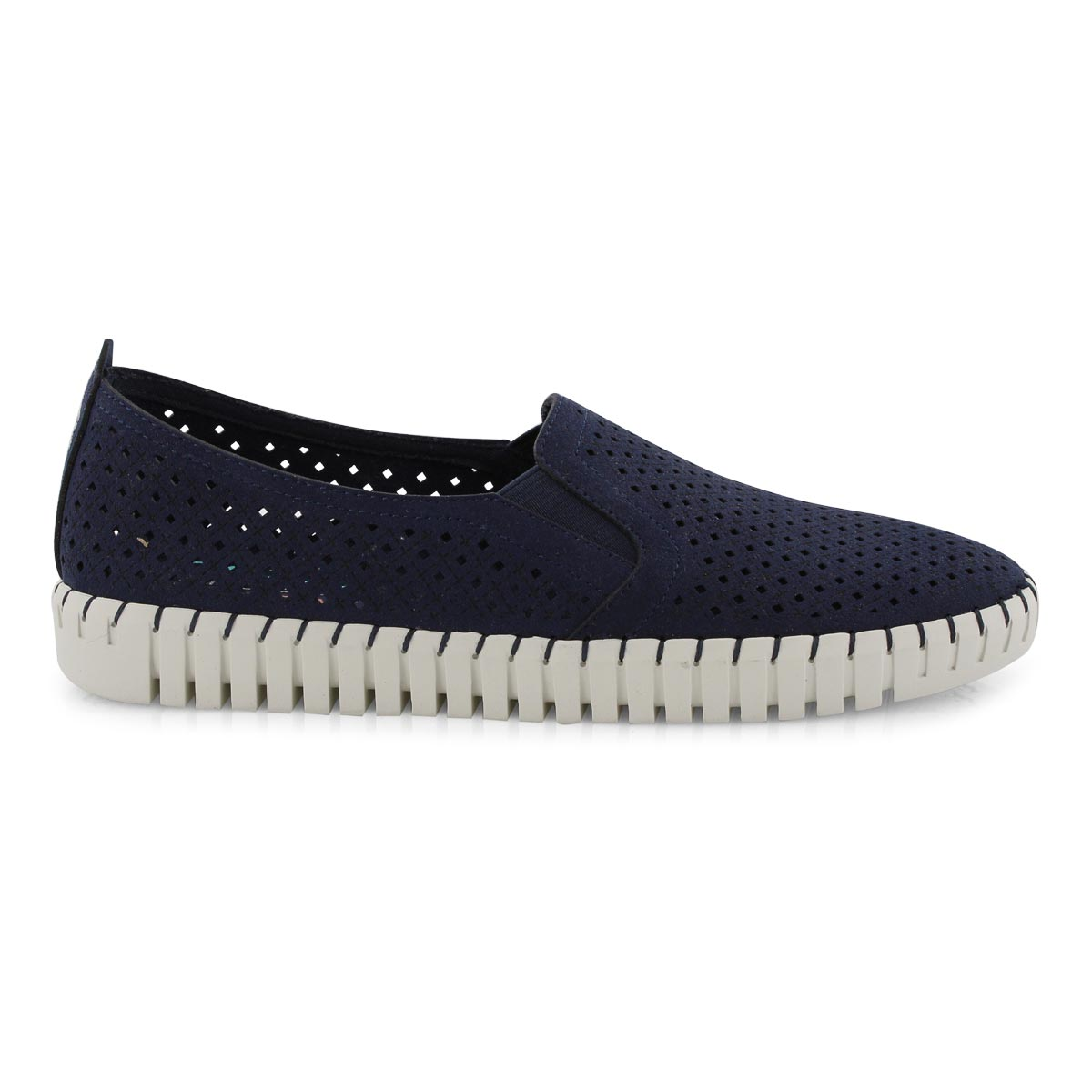 Lds Sepulveda Blvd navy slip on shoe