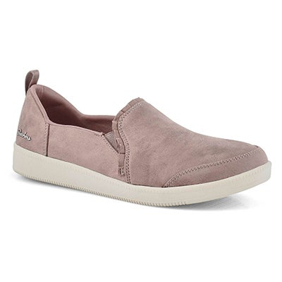 Lds Madison Ave City Soul mauve slip on